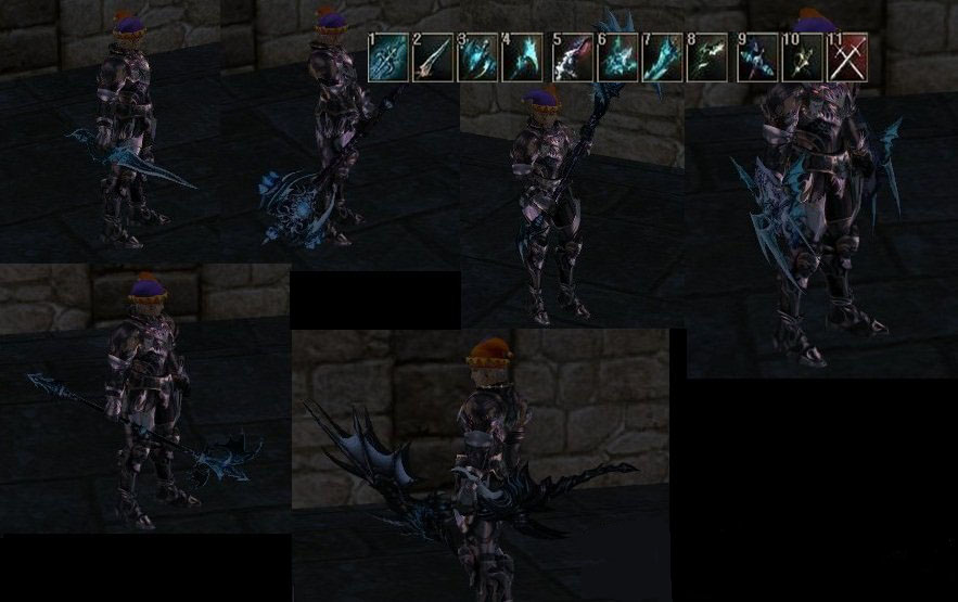 [Weapon] Ice Aion Weapons