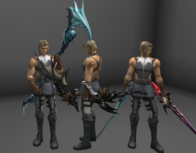 [Weapon] Aion Weapons for Interlude