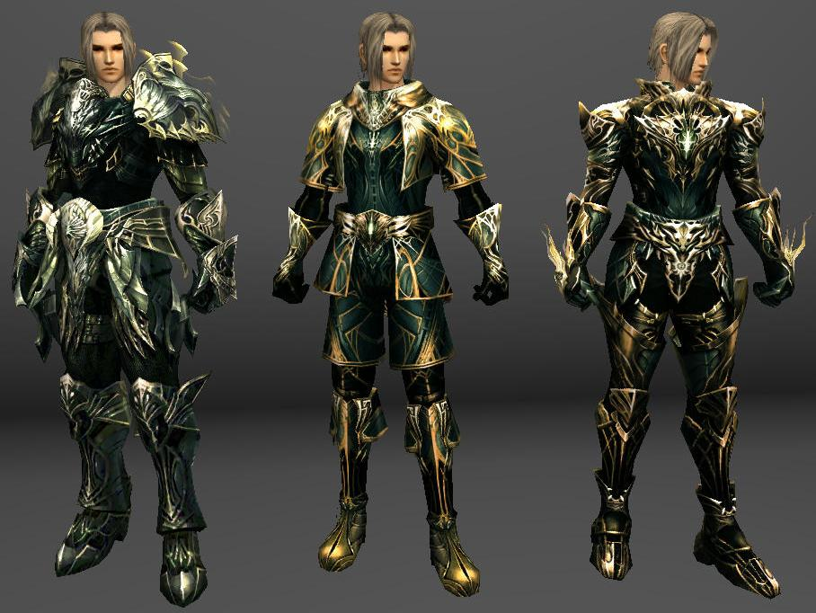[Armor] Gold Eternal R99 Armor